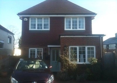 New build, detached house, Horley, Surrey