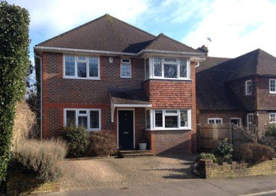 A brand new detached family home