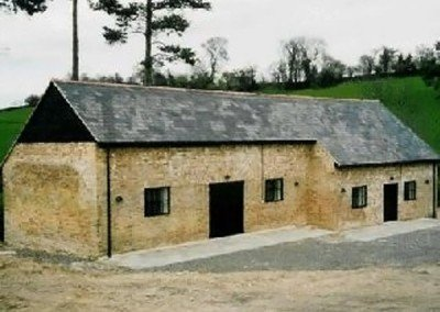 Traditional barn conversion, Kent