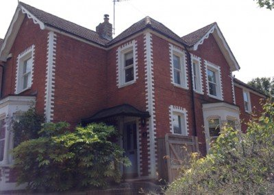 Substantial two-storey rear extension in Lingfield, Surrey